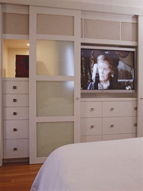 tv  closet houzz