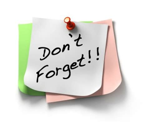 Dont Forget by Cccptas Council Dues Reminder