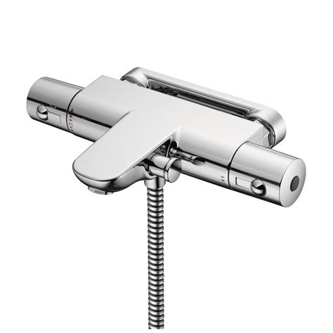 wall mounted thermostatic bath shower mixer product details a5634 thermostatic wall mounted bath