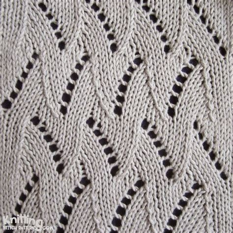 knitting tutorial website zigzag chevron stitches knitting stitch patterns