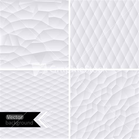 Vector White Geometric Background. Vector Illustration