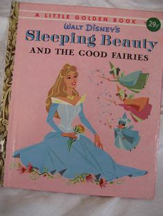 sleeping and the fairies disney classic golden book books hal stalmaster johnny tremain walt disney original