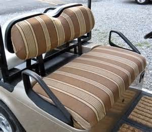 Seat Covers For Ezgo Golf Cart Ezgo Txt 1995 Up Sunbrella 174 60 Color Patterns Golf