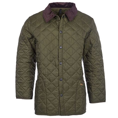Barbour Olive Quilted Jacket by Mens Barbour Quilted Jacket In Olive Linnell Countrywear