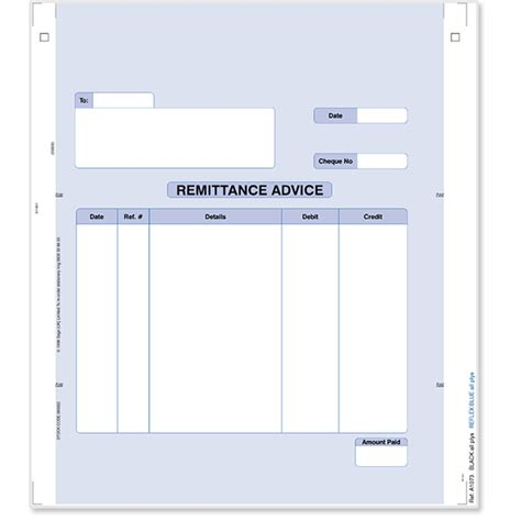 sle remittance advice template remittance advice stationery store