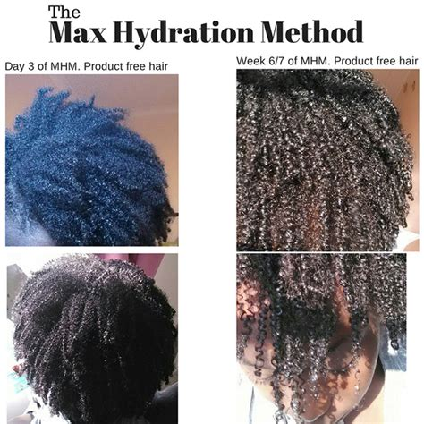 hydration treatment for hair but do max hydration cg method work for 4c hair