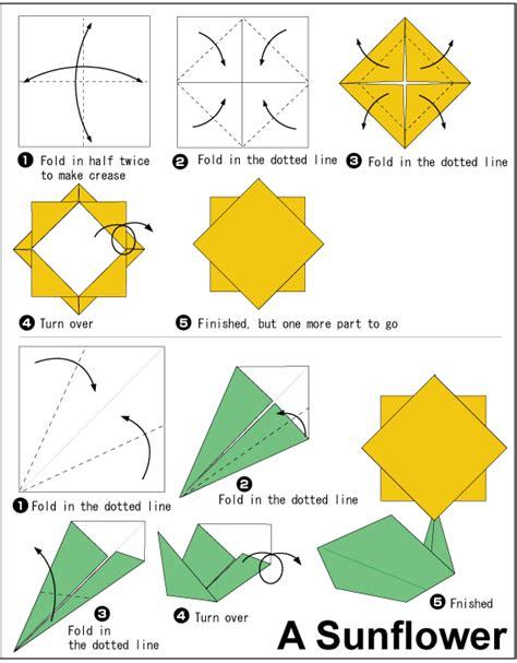 cara membuat origami bunga matahari kegiatan kegiatan tk dharma wanita geluran sidoarjo cara