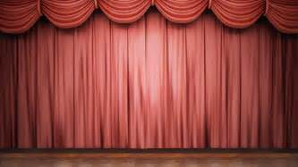 Opera stage curtains high definition clip of an opening red stage