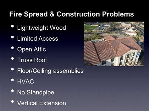 Centralized Section 8 Application by Low Rise Occupancies Center Hallway Attack Ppt