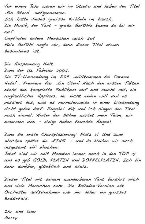 Bedanken Brief Beispiel Bedanken Brief