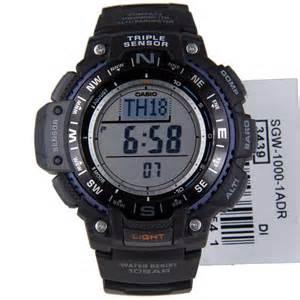 Casio Outgear Sgw 1000 1a casio sport gear sensor sgw 1000 1a outgear mens