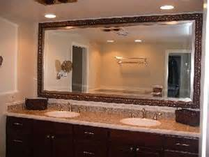 custom bathroom vanity mirrors master bathroom pictures and photos