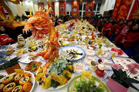new year buffet decoration the year of the goat or green wood sheep uk food and