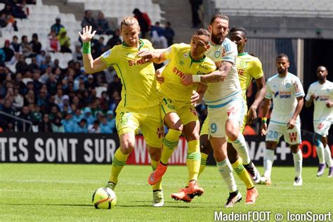 Calendrier Ligue 1 Nantes Marseille L1 Om Nantes Les Compos Officielles
