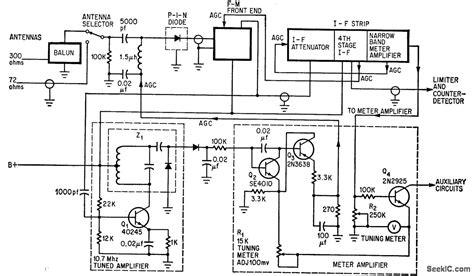pin diode schematic diagram pin diode provides 120 db acc range audio circuit circuit diagram seekic