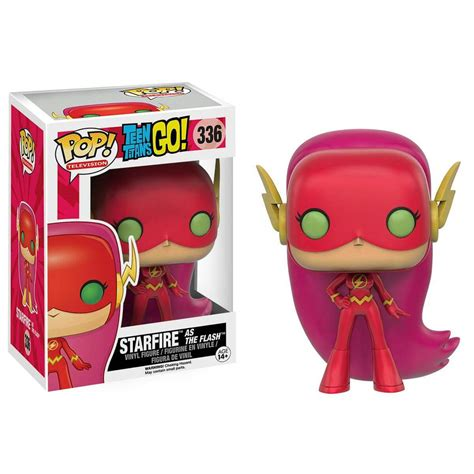 Funko Pop Heroes Flash starfire as the flash pop television funko pop vinyl