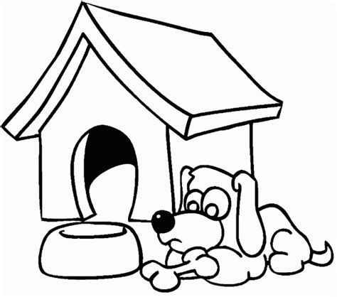 dog house coloring page dog house coloring page coloring home