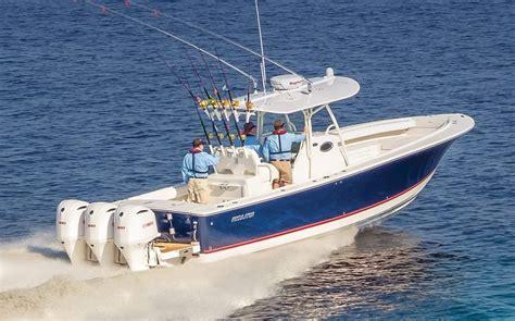 striper boats vs boston whaler grand banks eastbay 50 sx southern boating