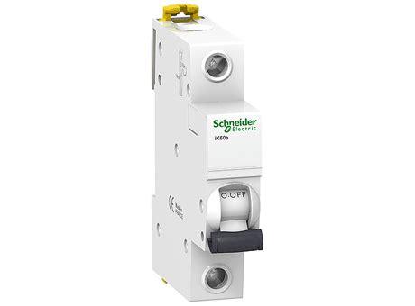 Mini Circuit Breaker 1p 2a Broco 3d models schneider electric circuit breaker ik60a 1p