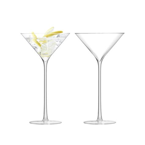 cocktail set lsa international celebrate cocktail glass set of 2