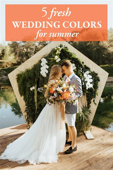 wedding colors for summer wedding colors wedding posts archives junebug