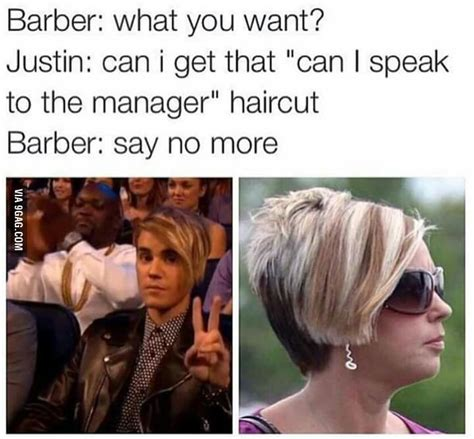 how can i get my hair ut like tina feys can i speak to the manager haircut 9gag