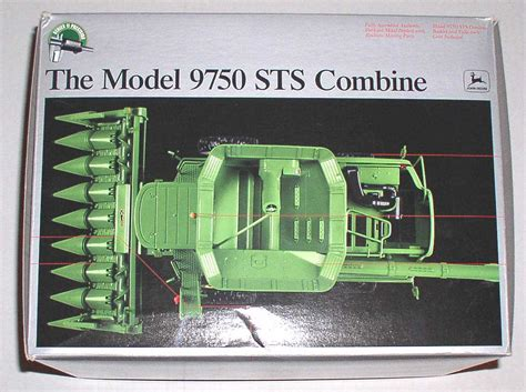 retro rubber sts precision deere 9750 sts combine 1 32 series ii