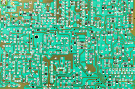 integrated circuit chip uses integrated circuit chip cir green pcb up stock photo image 69183397