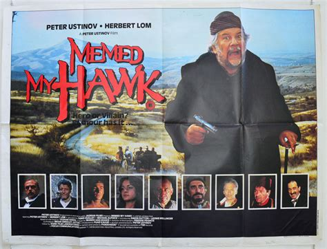 Memed My Hawk - memed my hawk original cinema movie poster from