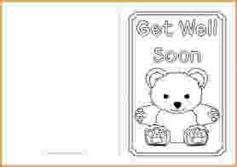 get well soon card template get well card template get well card template ppcd93990f