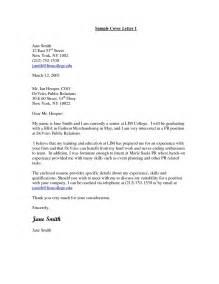 Sle Cover Letter For Retail by Fashion Retail Cover Letter Fitness Technician Cover