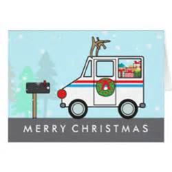 mailman mail thank you greeting card