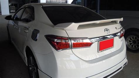 Spoiler All New rear spoiler with led light for all new toyota corolla