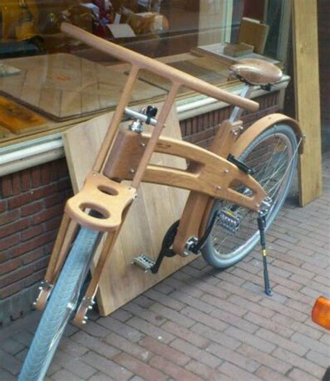 Elektro Motorrad Aus Holland by Wooden Bike Amsterdam Netherlands Holland Pinterest