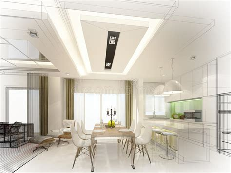 interior design kitchen with dining room download 3d house abstract sketch design of interior dining and kitchen room
