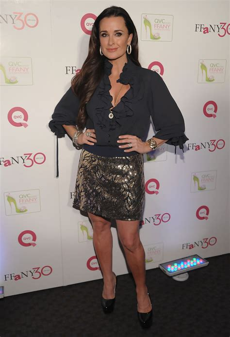 Qvc Presents Ffany Shoes On Sale A Benefit For Breast Cancer Research And Initiatives by Kyle Richards Photos Photos Qvc Presents Quot Ffany Shoes On