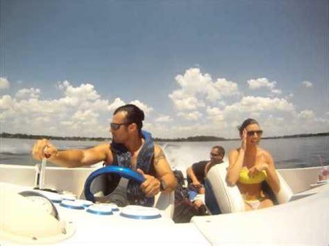 jet ski vs boat accident jet ski vs 454 jaws high performance speed boat ibowbow