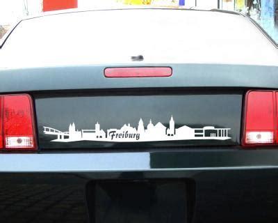 Aufkleber Drucken Freiburg by Aufkleber Freiburg Skyline Autoaufkleber 25 Farben