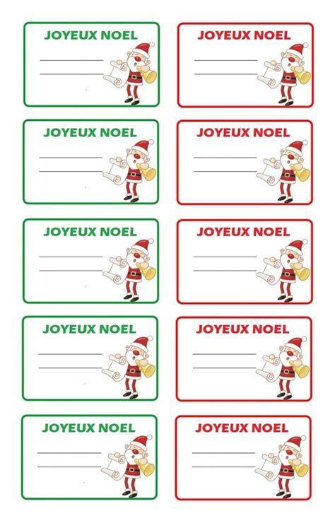 Etiquettes Cadeau Noel by Imprimer 233 Tiquettes No 235 L Pour Cadeaux De No 235 L Les