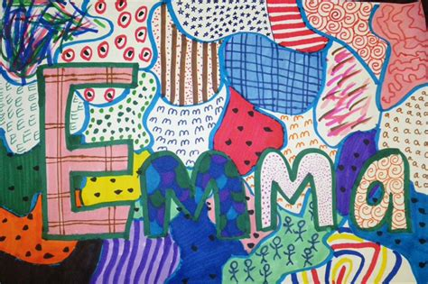 pattern artwork for kindergarten kindergarten art with mrs brown