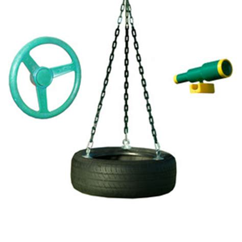 lowes tire swing heartland play systems captains loft playground set from