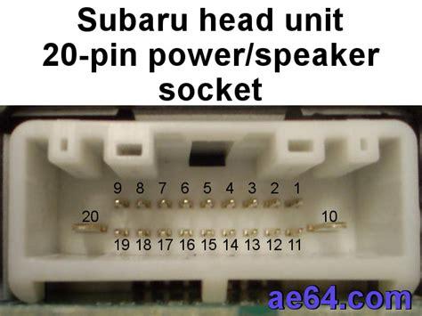 100 wiring diagram pioneer mvh x165ui subaru wrx
