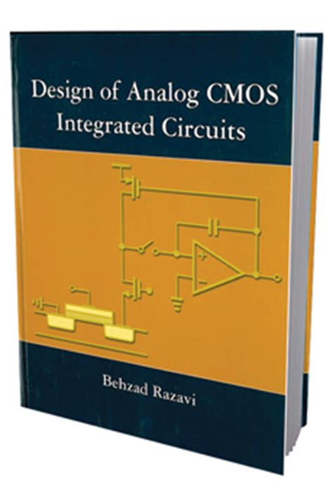 design of cmos analog integrated circuits books by faculty ee
