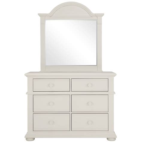 White Small Dresser by City Furniture Quinn White Small Dresser Mirror