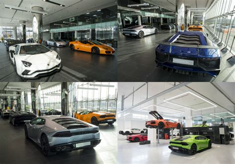 lamborghini showroom lamborghini opens its largest showroom in the torque