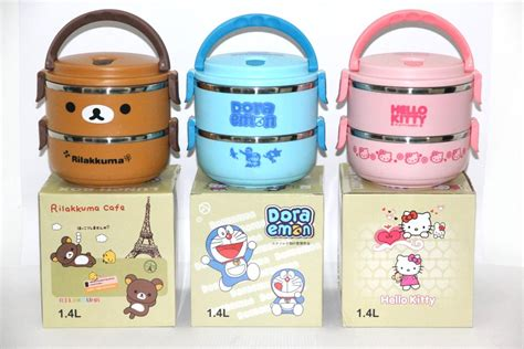 Fukorou 2 Layer Lunch Box lunch box 2 layer rantang 2 susun supplier id