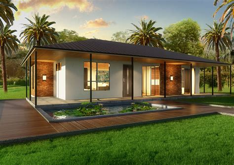 the villa 2 bedroom kit home small houses