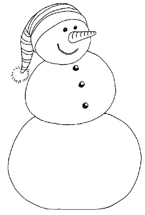 Snowman Color Page Az Coloring Pages Coloring Page Of Snowman
