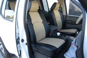 Seat Covers For Xterra Nissan Xterra 2012 2014 S Leather Custom Fit Seat Cover Ebay