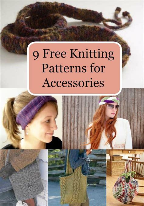 favecrafts free knitting patterns 9 free knitting patterns for accessories favecrafts